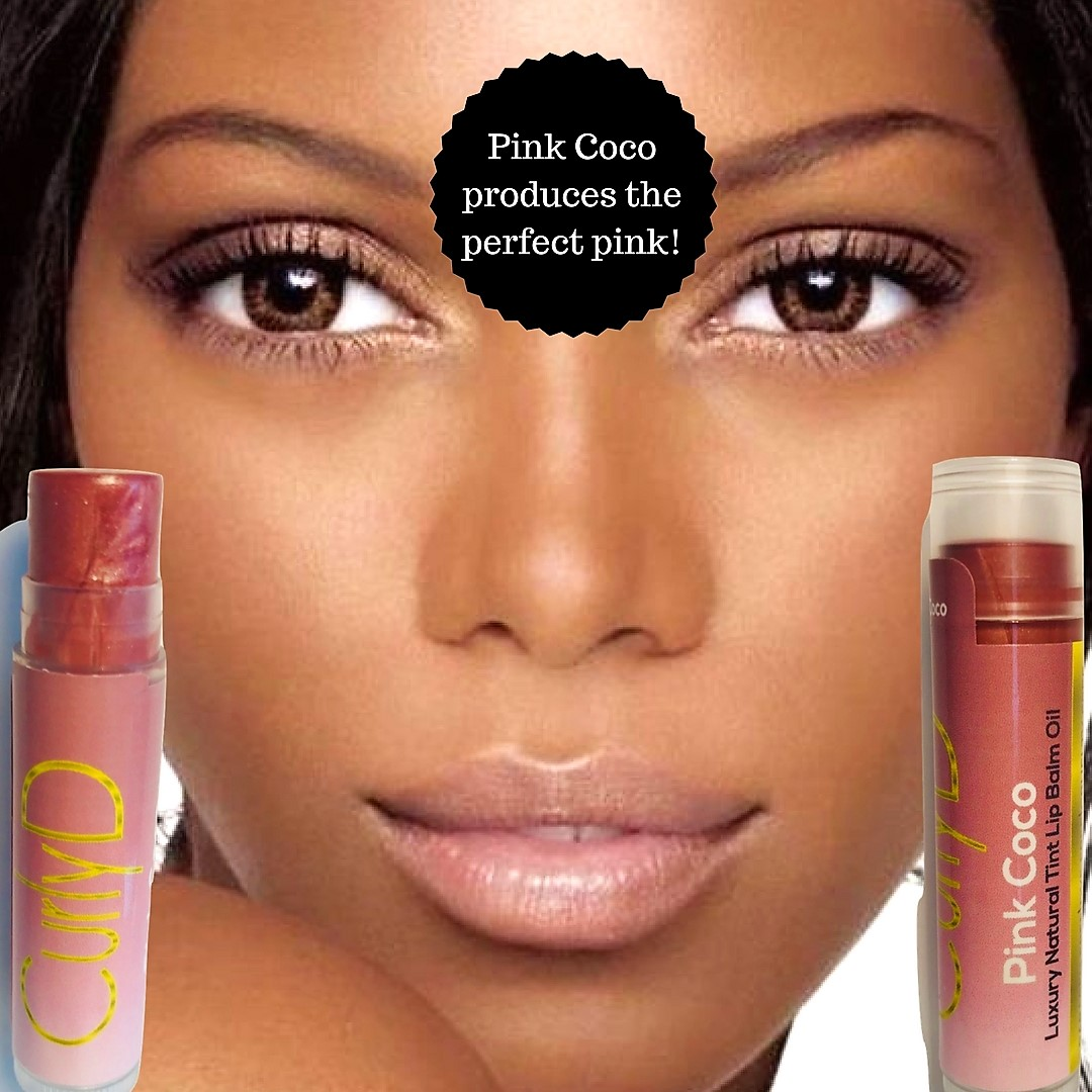 Pink Coco Lip Stain natural organic Curly D 4