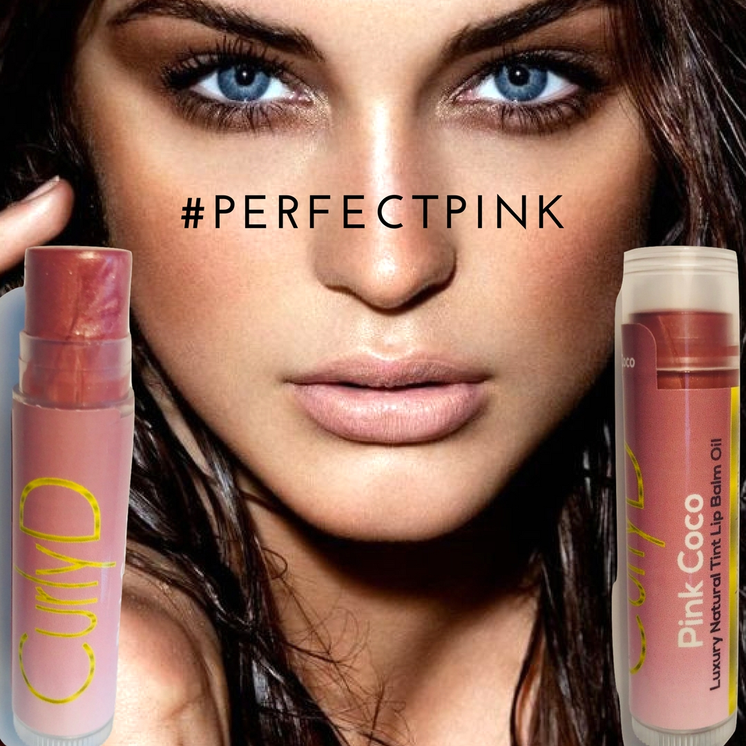 Pink Coco Lip Stain natural organic Curly D 3