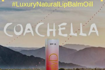 Coachella Juteux SPF 15 Luxury Natural Lip Balm Oil