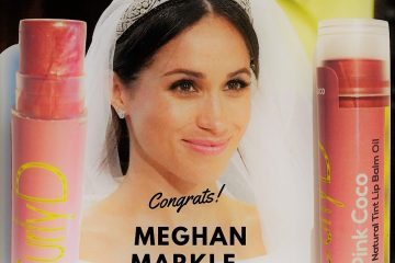 Meghan Markle Perfect Pink Lips Wedding Day Curly D Pink Coco